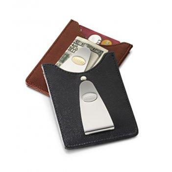Футляр для кредитных карт с клипом для денег