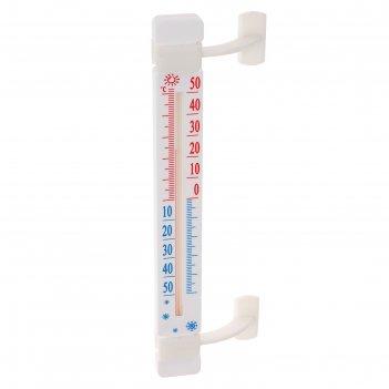 Термометр luazon ltr 002, спиртовой, уличный,на липучках