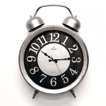 Настенные часы galaxy d-600-03 в виде будильника