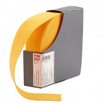 Эластичная лента-пояс 38мм*10м , цвет желтый