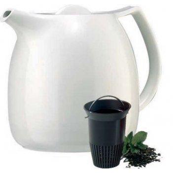 Термос-чайник заварочный 0,6л ellipse emsa, белый