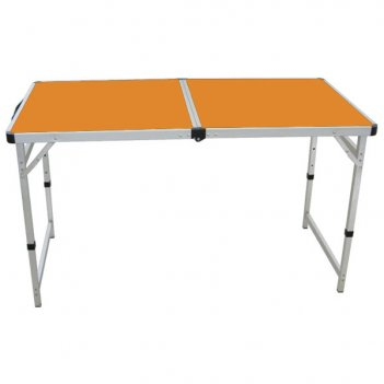 Tc-014 складной стол camping world funny table orange