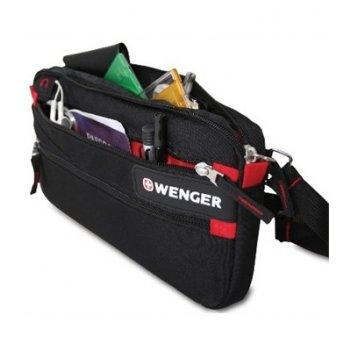 18292132 сумка  поясная wenger «waist bag»,  дорожная, для документов