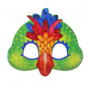 Маска карнавальная попугай