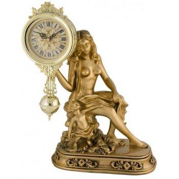 Скульптурные часы из полимерных смол восток 8312-1