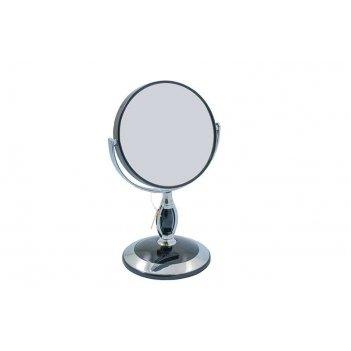 Зеркало b4 906 blk/c black настольное 2-стор. 3-кр.ув. 12,5