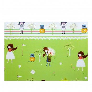 Бумага для творчества дети в саду а4 плотность 80 гр