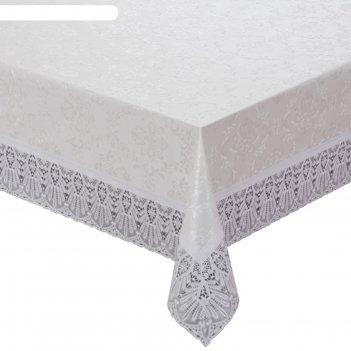 Готовая скатерть meiwa, d=178 см, цвет белый