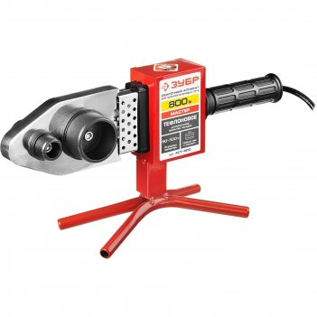 Сварочный аппарат зубр аст-800, для полипропиленовых труб, 800 вт, 260°, 2