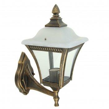 Светильник tdm садово-парковый глазурь 60 вт, вверх, прозрачное/бронза, е2