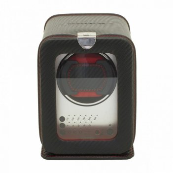 Шкатулка для 1 часов с автоподзаводом carbon арт.29460-2