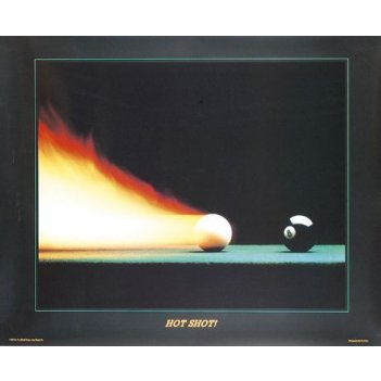 Постер hot shot 77?62см