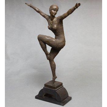 Ep-173 фигура бронзовая танцовщица