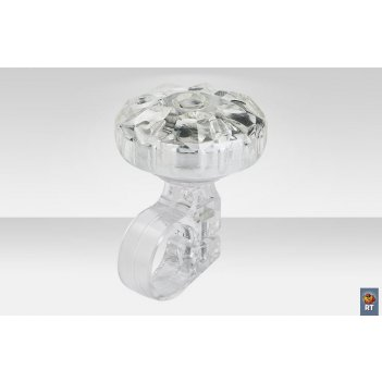26s-06 звонок алмаз серебристый