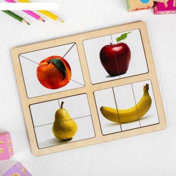 Разрезные картинки фрукты-1