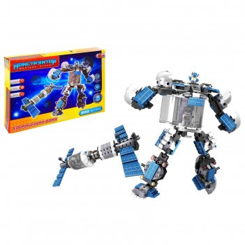 Конструктор-трансформер космический воин 2в1 (робот/космический корабль),