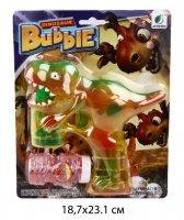 Мыльные пузыри динозаврик на бат.,55 мл,свет., элементы питания не входят