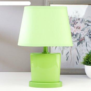 Лампа настольная 03000 1хе14 15вт зеленый 20х28,5х11 см