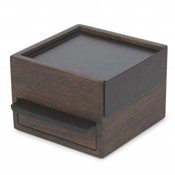 Шкатулка для украшений stowit, черная