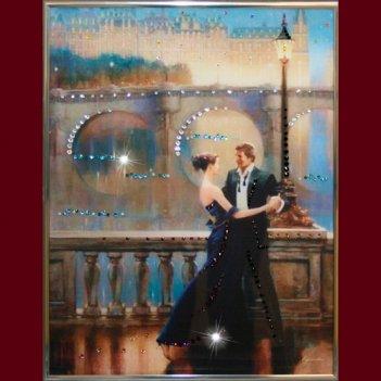 Картина сваровски - танец любви