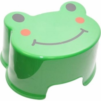 Табурет-подставка зверята лягушонок 2291 зеленый