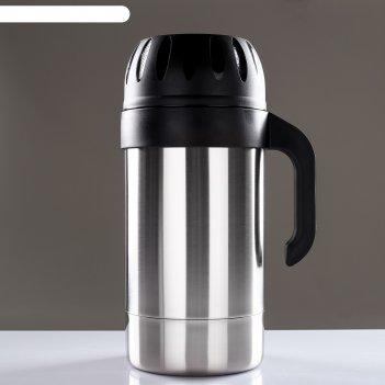 Термос питьевой родник 1с593, с узким горлом, 3 л, 63 °с, 24 ч