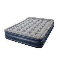 Кровать надувная cornerstone airbed queen 203x152x43 см, встроенный насос