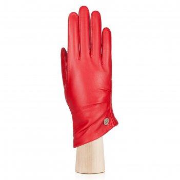Перчатки женские, размер 8, цвет красный