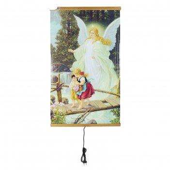 Обогреватель домашний очаг ангел-хранитель, инфракрасный, 500 вт, 1050 х 6