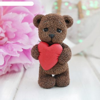 Мишка с большим сердцем 9949