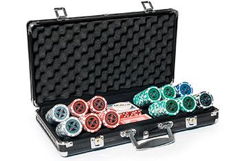 Набор для покера на 300 фишек ultimate 14 гр.