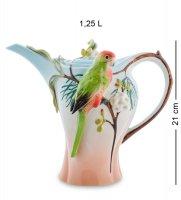 Fm-79/ 1 заварочный чайник попугай розелла (pavone)