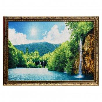 Гобеленовая картина красота водопада