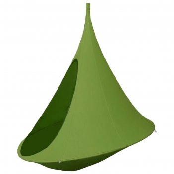 Гамак-кокон jamber двухместный, цвет зеленый