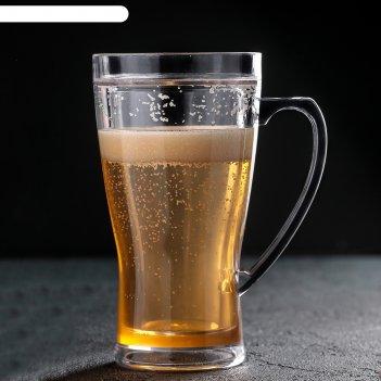 Кружка для пива охлаждающая 420 мл
