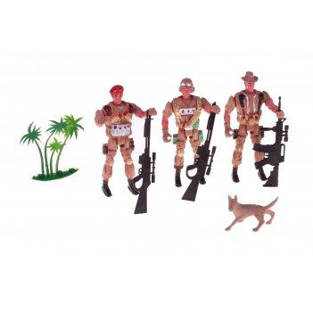 Набор солдатиков спецназ, микс
