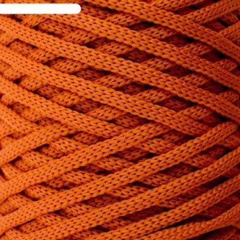 Шнур для вязания классика 100% полиэфир 3мм 100м (127 кирпичный)
