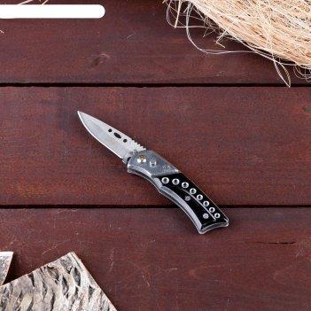 Нож складной автоматический мастер к. (с кнопкой, фиксатором)