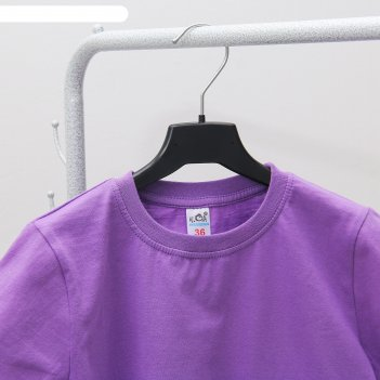 Вешалка-плечики, размер 32-34, цвет чёрный