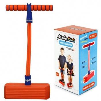 Moby-jumper. тренажер для прыжков со звуком, оранж.