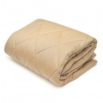 Одеяло облегченное stn-маракеш 140х205 см, беж, верблюжья шерсть/полиэфирн