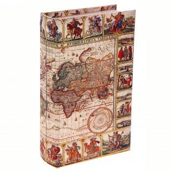Сейф-книга карта исследователя