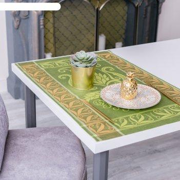 Дорожка на стол «лилиан», этель: лён, 50 x 70 ± 3 см, 100 % лён