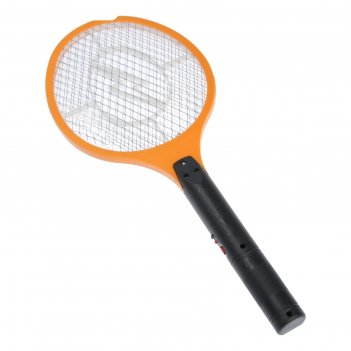 Электрическая мухобойка 55х22см, 2 фонаря, аккумулятор (са161), микс