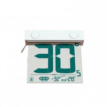 Цифровой оконный термометр на липучке rst01288
