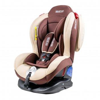 Детское кресло sparco f2000k, группы 0+/1/2 (0-25 кг), велюр + вставки из