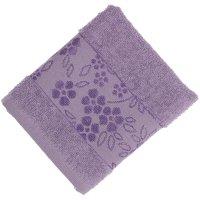 Полотенце махровое банное fiesta elara, размер 70х130 см, цвет сирень, 400