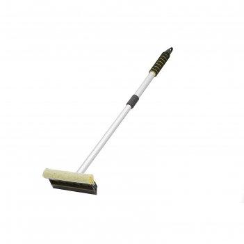 Водосгон главдор на телескоп. ручке, 55 + 30 см, желтый