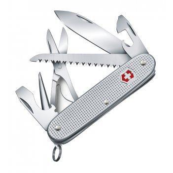 Нож перочинный victorinox farmer x alox, 93 мм, 10 функций, алюминиевая ру