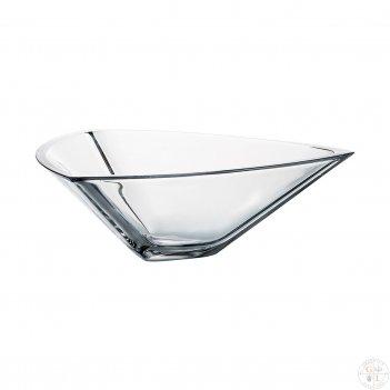 Фруктовница crystalite bohemia triangle 30см